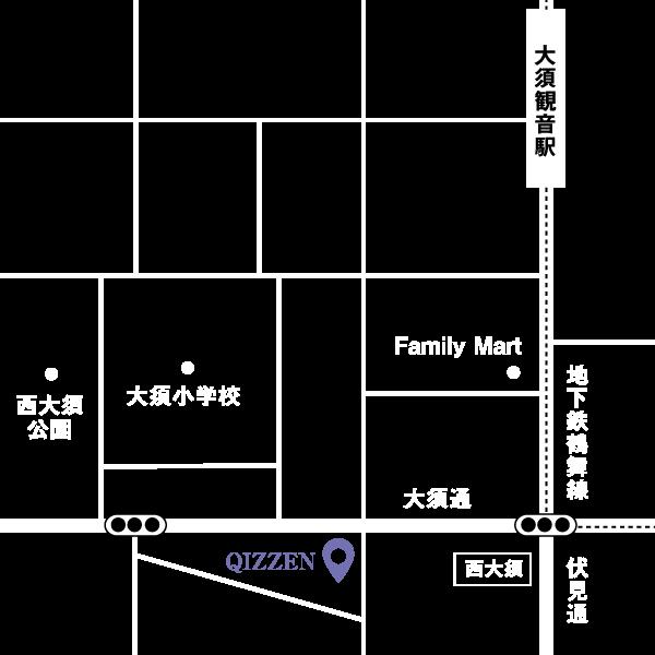QIZZEN 地図